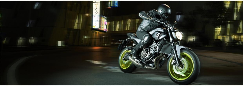 Yamaha MT-07 - Ny pris kr. 70.763,- afgiftsbesparelse kr. 9.227,-
