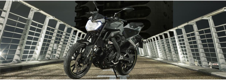 Yamaha MT-125 - Ny pris kr. 45.910,- afgiftsbesparelse kr. 4080,-
