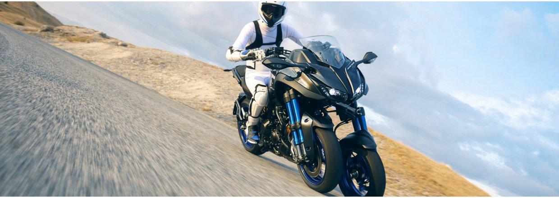Prøvekør Yamaha NIKEN hos Bruun-Larsen Motorcykler