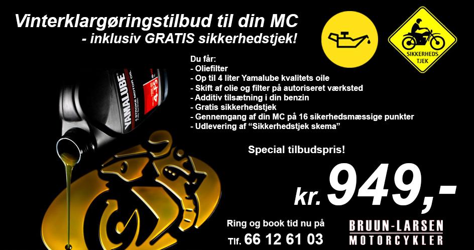 81fa4484d7563 Vinterklargøringstilbud til din MC - inkl. GRATIS sikkerhedstjek ...